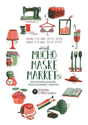 Vuelve @MuchoMaskMarket este fin de semana en @delimboartspace