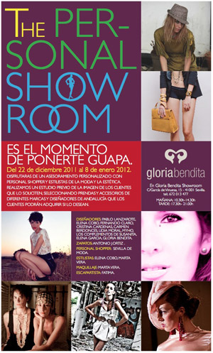 Sevilla de Moda participa en The Personal Showroom