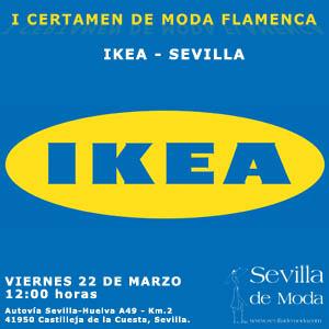 I Certamen de Moda Flamenca Ikea Sevilla #sevillahoy