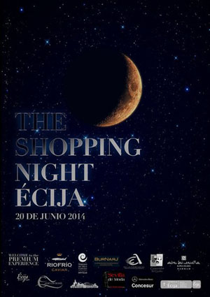 Shopping Night Écija 2014. 20 de Junio @aytoecija #sevillahoy