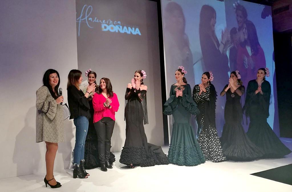 D'Flamenca Pasarela Doñana: Lucía Herreros, ganadora del concurso de diseñadores noveles