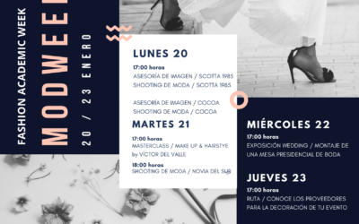MODWEEK – FASHION ACADEMIC WEEK ENERO